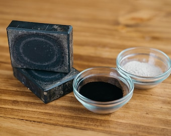 Activated Charcoal Goat Milk Soap Face Bar