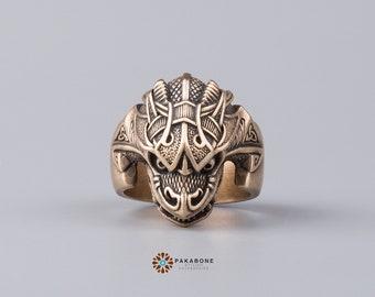 Viking Ring Jörmungandr Jormungand Midgard Serpent  Norse Style Viking Jewelry 001-311