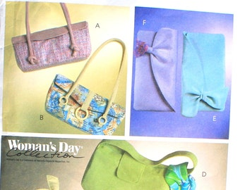 UNCUT Set of Handbags one with Scarf