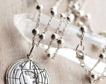 Spring Fling Sale Cyber Monday Sale Black Friday Sale Taurus Necklace, Taurus Jewelry, Taurus Pendant, Taurus Gift, Birthstone Necklace, Zod