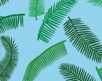 Palm Leaf Gift Wrapping Paper