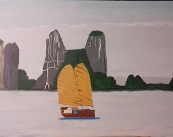 The Viet Nam Ha Long Bay