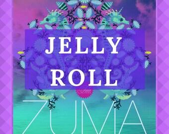 "PRE-ORDER Tula Pink Zuma Jelly Roll, 40 Pc Tula Pink Jelly Roll, 2.5"" Strips of Tula Pink Zuma Fabric, Tula Pink Zuma Pre-Cuts"