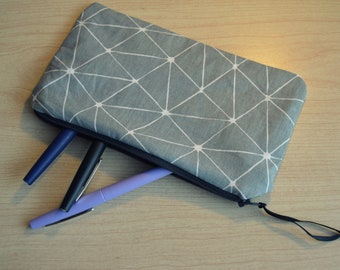 Little case with geometric patterns