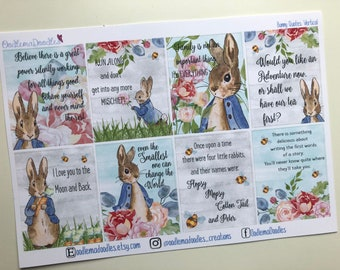 Bunny Quote Stickers