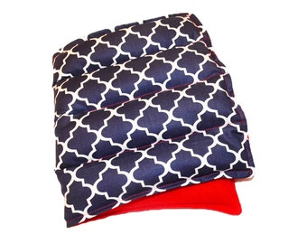 Large Lavender Flax Seed Heat Pack Fleece Microwave Heating Pad Red White Blue Hot Cold Body Pack Heating Pad Pillow Microwave Freeze