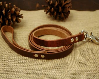 Leather Dog Leash