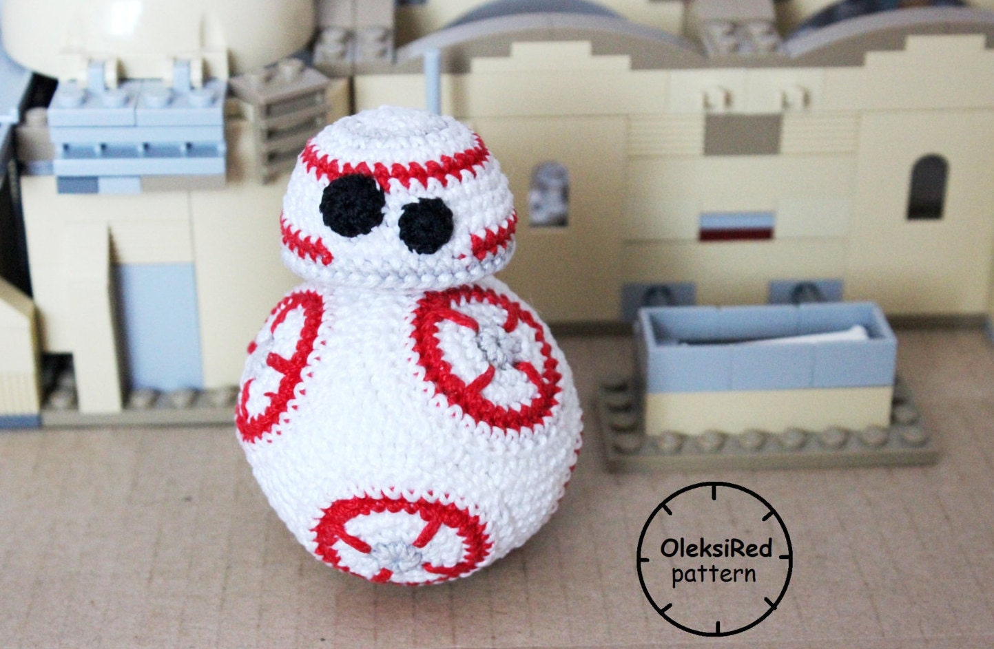 Amigurumi Star Wars Patterns Free : Star wars crochet pattern droid bb amigurumi pattern from
