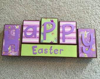 Easter blocks- Tinkerbell