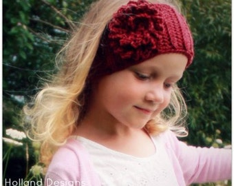 Download Now - CROCHET PATTERN Emilie Headwrap - Baby to Adult - Pattern PDF