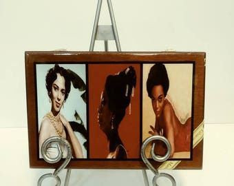 DOROTHY, NINA & EARTHA Cigar Box Purse