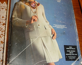 Fall and Winter 1969 SEARS Roebuck and Co. MN Catalog ~ Retro, Hippy Fashion Styles (Go Karts!)