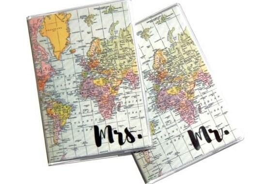 passport covers 2 mr and mrs wedding gift passport