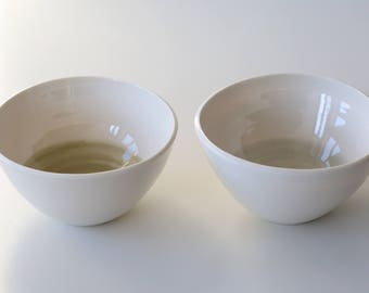 Two porcelain bowls 18-246