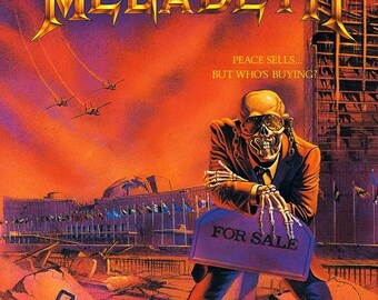 Megadeth - Peace Sells... but Who's Buying? thrash metal crossstitch subversive dmc pattern