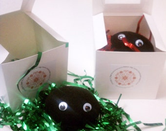 Lump of Coal - Christmas gift wrapped -cute and funny gift idea