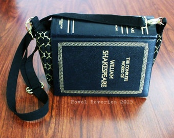 William Shakespeare Upcycled Book Purse
