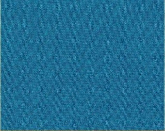 Fat Quarter - Heather Ross Kinder Coordinate - Artisan Cotton - Aqua/Blue - Another Point of View for Windham - 40171-23