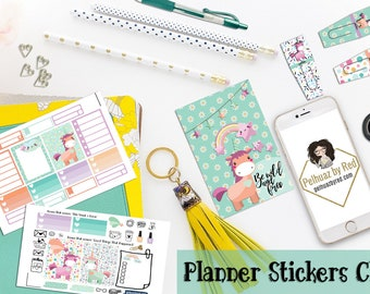 Passion Planner Stickers Club, Planner Sticker Subscription, Monthly Subscription, Subscription Box, Passion Planner, Be Wild and Brave