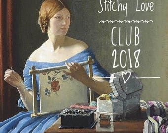 1 full membership to the Stitchy Love Club by Lucy Beam 2018