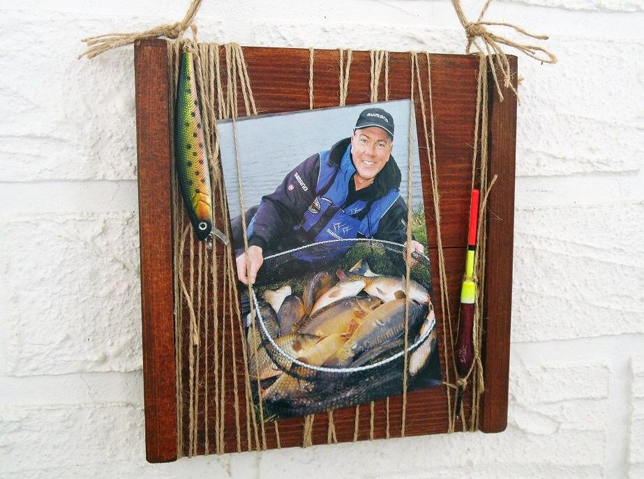 Marco de fotos para pescador, marco para foto con pescado y ...