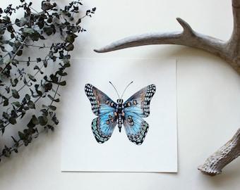 Watercolor Butterfly - ORIGINAL