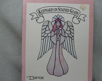 Pattern Book for Stained Glass Angels by Battoe