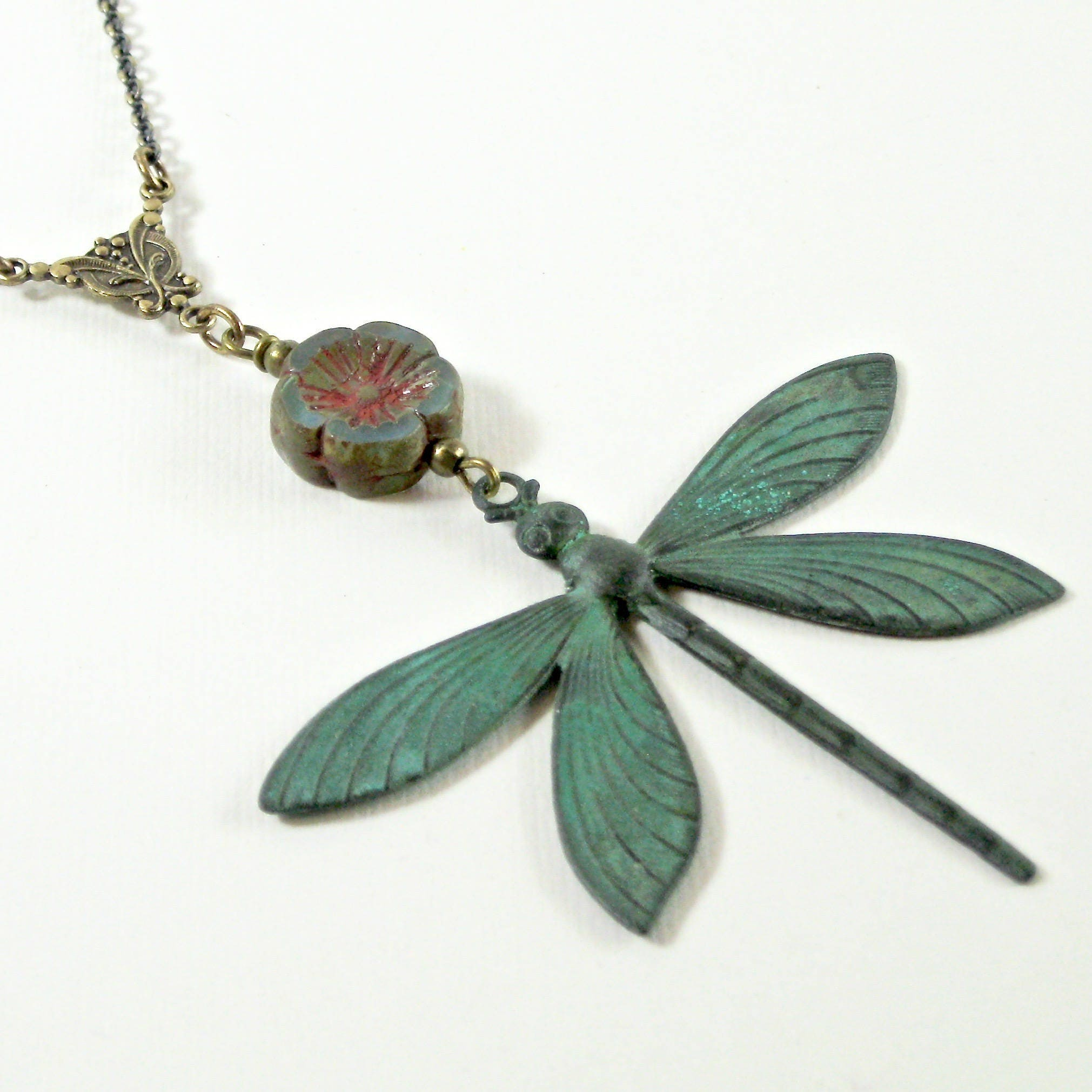 elizabeth horn bont nouveau shop company the antique dragonfly art pendant bonte jewellery