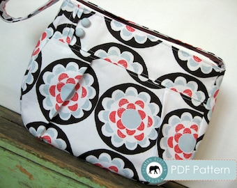The Annie Handbag PDF Sewing Pattern (Instant Download)