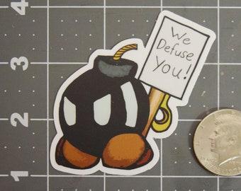 We defuse you!