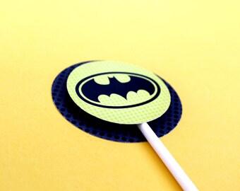 Superhero Collection. PERSONALiZED Circle Tags. DIY Printable Design. Pinkadot Shop