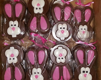 Easter Bunny Chocolate Covered Oreo - set of 6