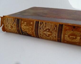 Danish book on transporation, rare book 1912, trains, planes, boats, zeppelins, bridges, in Danish, Ad Landeveje og Paa Staalskinner
