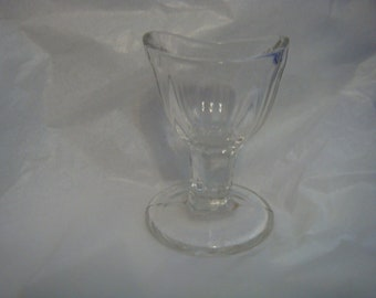 Eye Wash Glass Vintage Antique Clear Glass Markers Mark Bubbles