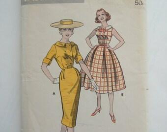 Butterick 8459, Misses' Dress Size 12, Bust 32