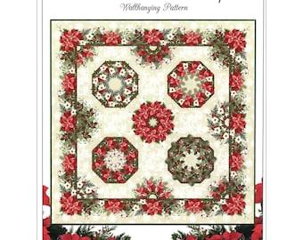 Kaleidoscope Quilt/Wallhanging Pattern by Jason Yenter