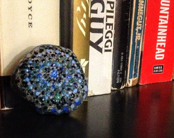 Blue Dotted Rock