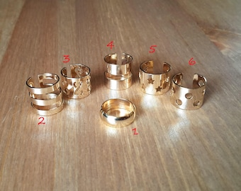 Design Your Own Rings With Stones, Gold Midi Rings,  Gold Knuckle Ring, Mid Rings, Midi Set, Personalized Jewelry, Personalized Ring, Gift