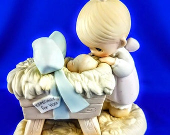 God Sent His Son Precious Moments Figurine