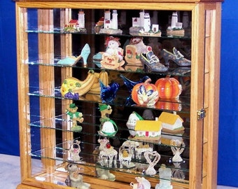 Wall Hanging or Tabletop Curio Cabinet Display
