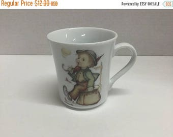 Sale Vintage M.J. Hummel The Merry Wanderer Coffee Cup Coffee Mug Reutter Porzellan Germany