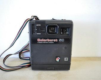 vintage camera / Colorburst 50 / A Kodak instant camera / camera prop / display / 1970s vintage
