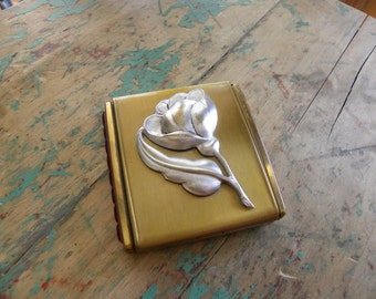 Vintage Mirrored Compact