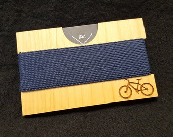 Mountain Bike Wooden Wallet, Credit Card Sized, Front Pocket Wallet, Modern, Classic, Minimalist, by JackGlass on Etsy
