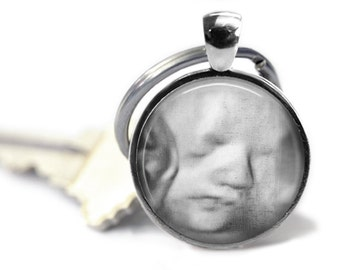 Sonogram Keychain, Ultrasound photo keychain
