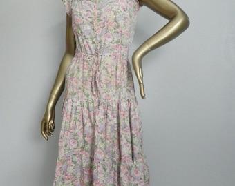 rock garden ~ floral sun dress