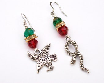 The Eagle & The Snake - Mexican Flag Jewelry - Águila y Culebra
