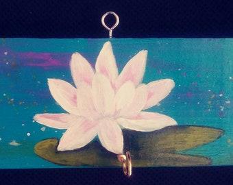 Lotus flower key holder