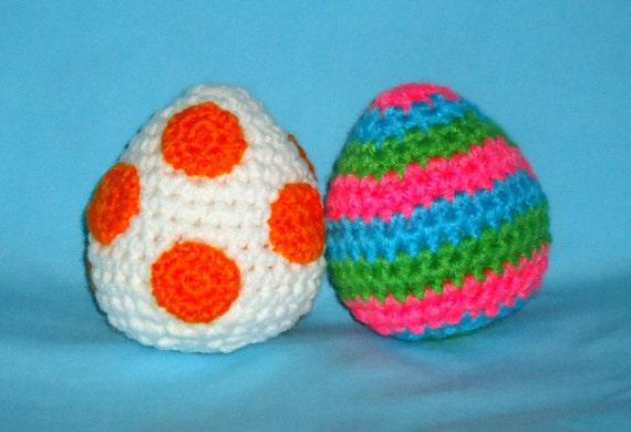 Easter Egg Pattern Crochet Food Pattern Crochet Easter