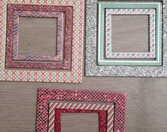 Cardboard x 9 frame